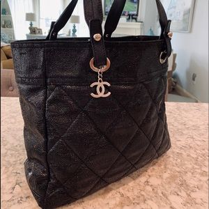 CHANEL Tote Bag Purse XL